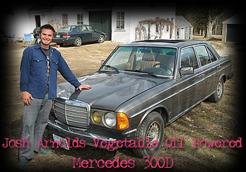 Vegetable Oil Mercedes