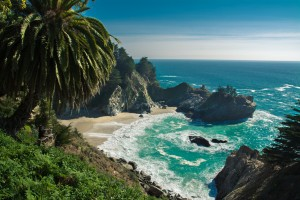 Julia Pfeifer Beach - Big Sur CA